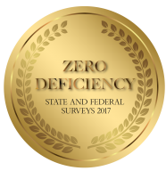 Woodland Nursing & Rehabilitation Earns Zero Deficiency Survey